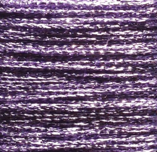 Gold Rush Metallic Glitter Thread 10m Lilac